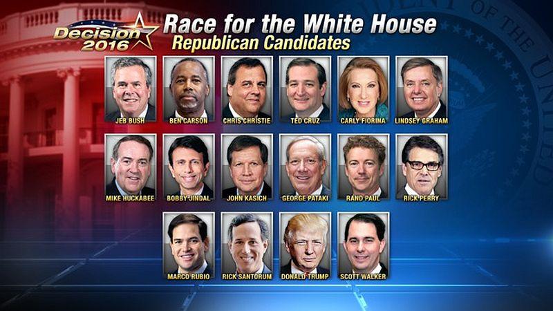 last 2 republican candidates