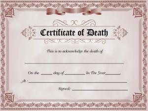 DeathCertificate