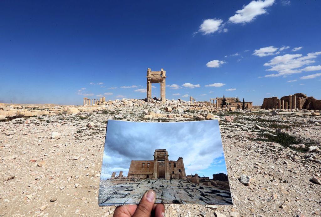 SYRIA-CONFLICT-HERITAGE-PALMYRA